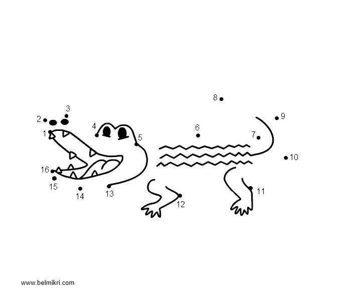 crocodile - Peter Pan Crocodile Coloring Page